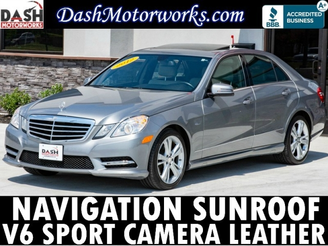 2012 Mercedes-Benz E-350 Navigation Sunroof Camera Leather