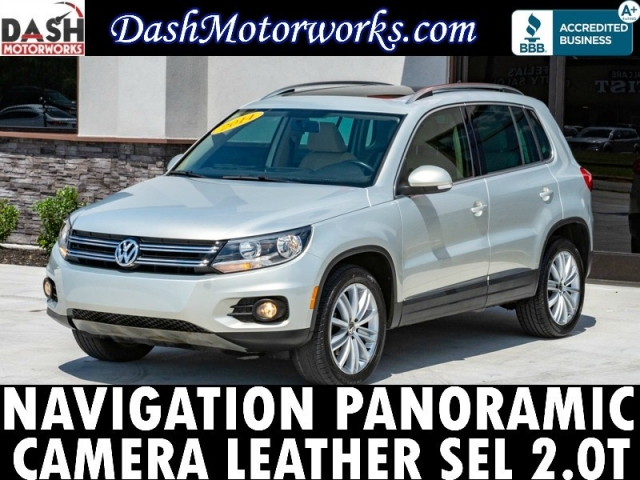 2014 Volkswagen Tiguan Navigation Panoramic Camera Leather