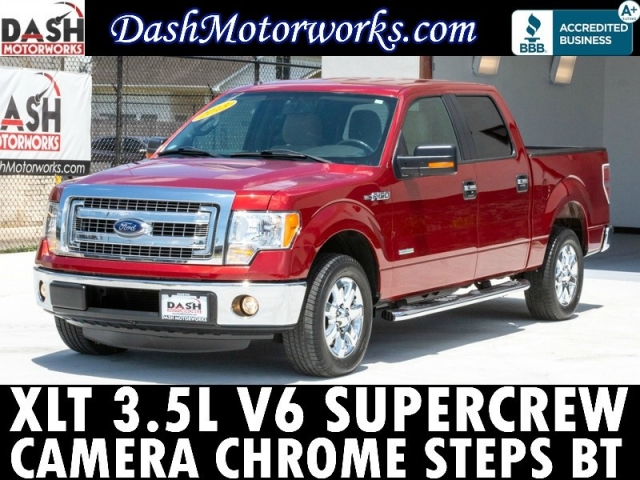 2013 Ford F-150 XLT SuperCrew Ecoboost Camera Chrome