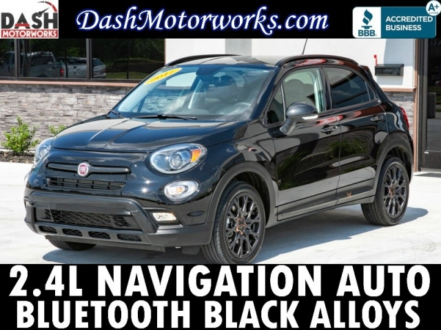 2017 Fiat 500X Navigation Leather Appearance Bluetooth