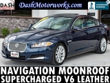 Jaguar XF Supercharged V6 Navigation Moonroof Meridian 2013