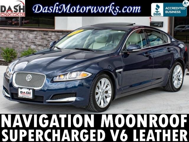 2013 Jaguar XF Supercharged V6 Navigation Moonroof Meridian