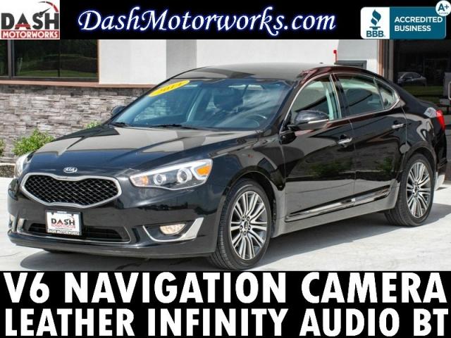 2014 Kia Cadenza Navigation Camera Infinity Leather