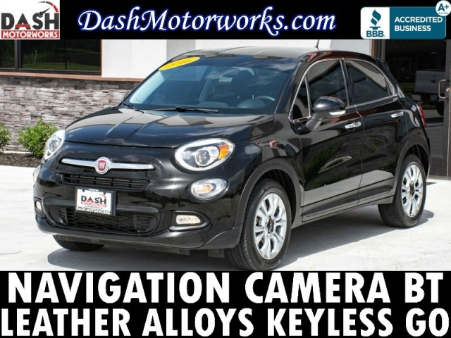 2016 Fiat 500X Navigation Camera Leather Bluetooth