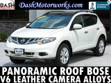 Nissan Murano SL Panoramic Camera Leather Bose 2012