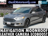 Ford Fusion SE Ecoboost Navigation Camera Sunroof Leath 2014