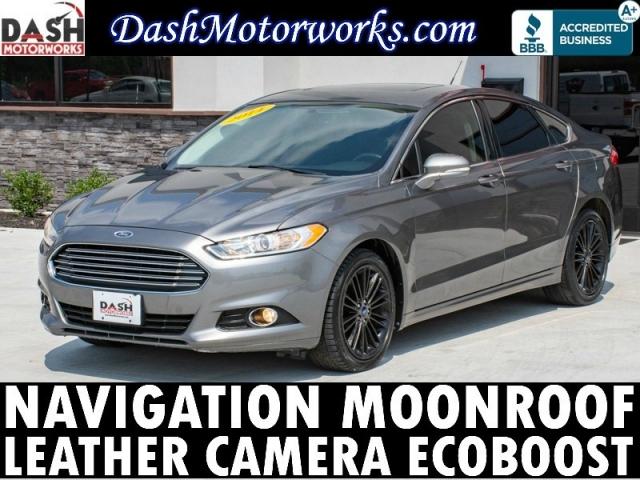 2014 Ford Fusion SE Ecoboost Navigation Camera Sunroof Leath
