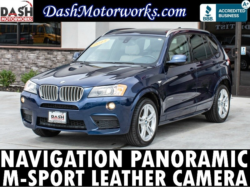 BMW X3 xDrive 28i M-Sport Navigation Panoramic Camera 2013 price $11,985