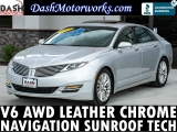 Lincoln MKZ V6 AWD Navigation Camera Tech Pkg 2014