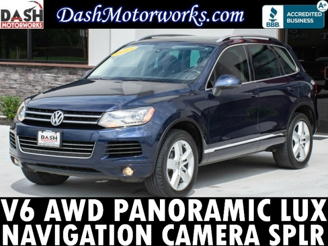 2013 Volkswagen Touareg VR6 4Motion Navigation Panoramic