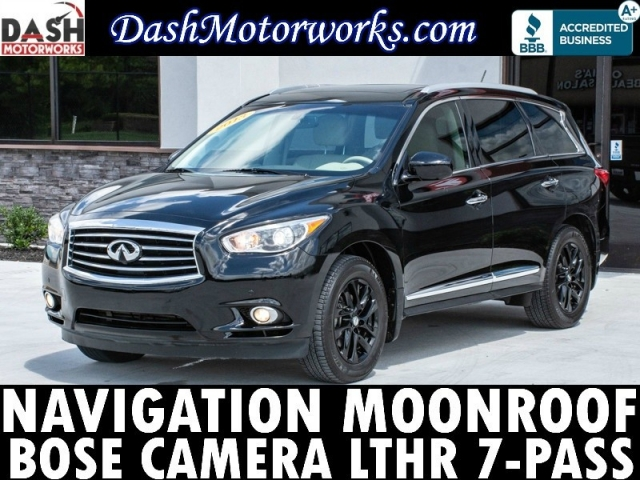 2013 Infiniti JX35 AWD Navigation Sunroof Bose Camera
