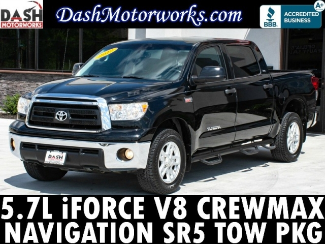 2012 Toyota Tundra Crewmax SR5 V8 Navigation Side Steps