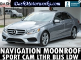 Mercedes-Benz E350 Sport Navigation Camera Sunroof Leather BLIS  2014