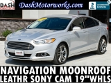 Ford Fusion Titanium Navigation Camera Sunroof Leather  2016