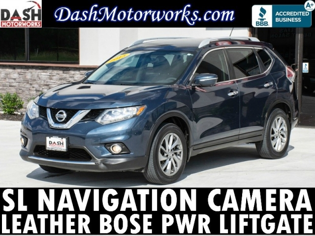 2015 Nissan Rogue SL Navigation Camera Bose Leather