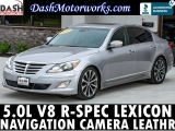 Hyundai Genesis 5.0L V8 R-Spec Navigation Lexicon Leather 2012