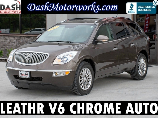 2012 Buick Enclave Leather Camera Park Assist Pwr Liftgate