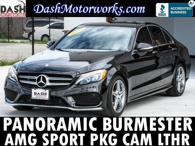 2015 Mercedes-Benz C-Class C300 Panoramic Camera Sport Package