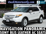 Ford Explorer Limited Navigation Panoramic Camera Sony  2014