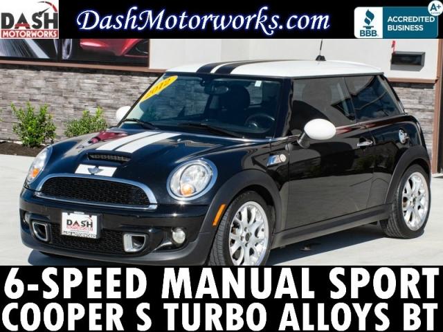 2011 Mini Cooper S Turbo 6-Speed Manual Sport