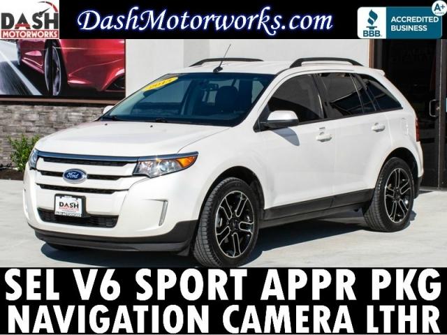 2013 Ford Edge SEL V6 Sport Pkg Navigation Leather Xenons