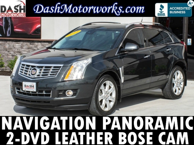 2014 Cadillac SRX Premium Navigation Panoramic Bose 2-DVD Leathe