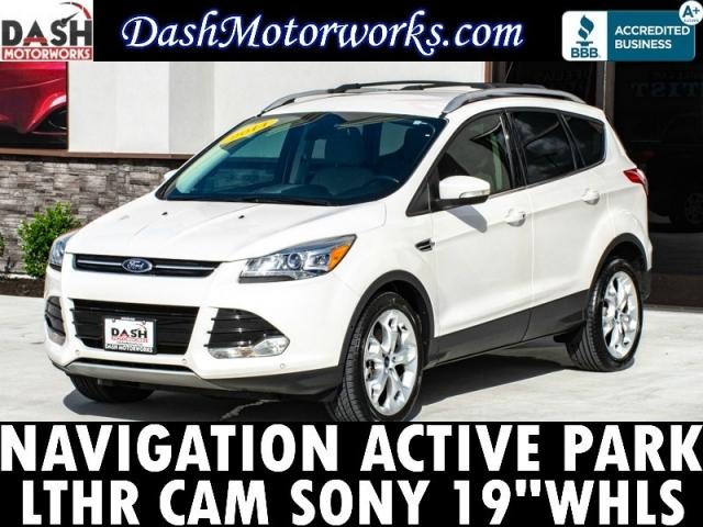 2014 Ford Escape Titanium Navigation Camera Sony 19-inch Whe