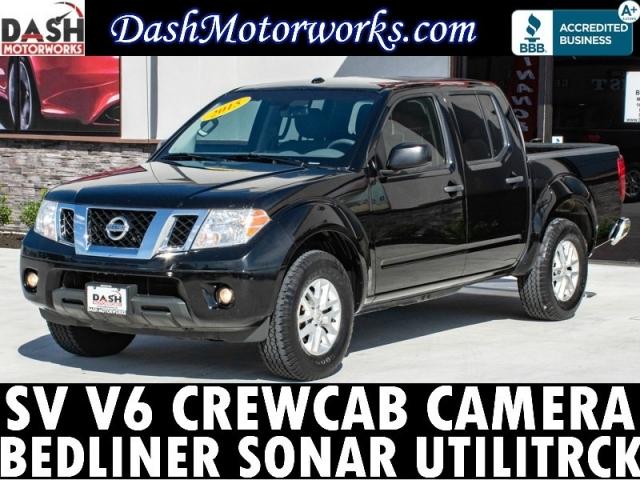 2015 Nissan Frontier SV V6 CrewCab Camera Bedliner Auto