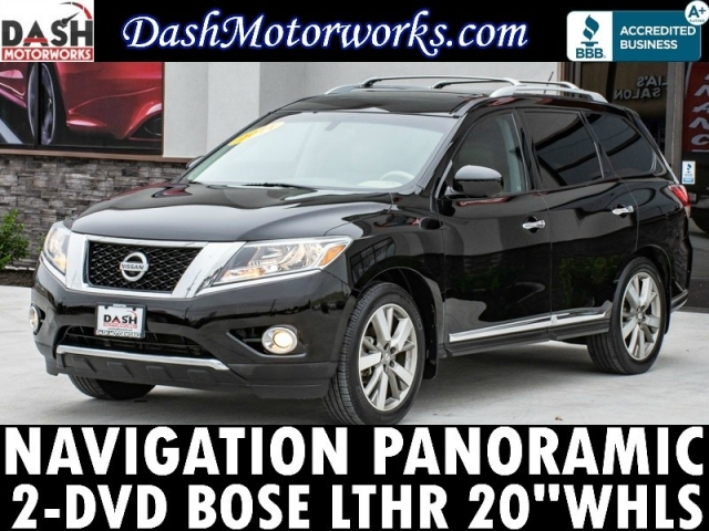2014 Nissan Pathfinder Platinum DVD Panoramic Navigation Bose