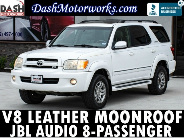2007 Toyota Sequoia Limited V8 Leather JBL Sunroof 8-Pass