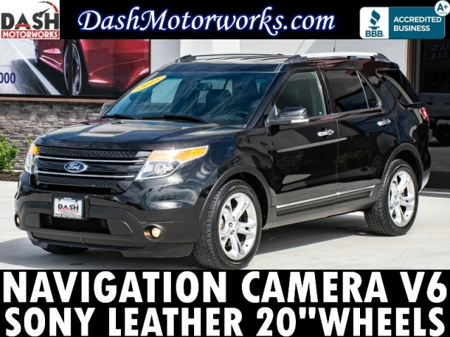 2015 Ford Explorer Limited Navigation Camera Sony Leather