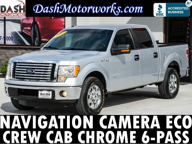 2012 Ford F-150 XLT SuperCrew Ecoboost Navigation Camera Chr