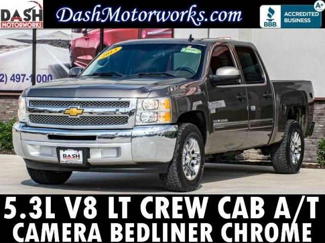2013 Chevrolet Silverado 1500 LT Crew Cab V8 Chrome Bedliner 6-Pa