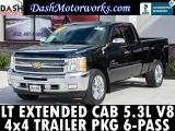 Chevrolet Silverado 1500 LT Extended Cab Chrome 4x4 Bedliner 2012