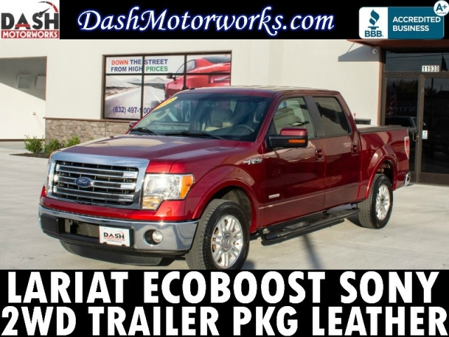 2013 Ford F-150 Lariat EcoBoost SuperCrew Leather Camera Son