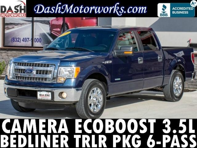 2013 Ford F-150 XLT SuperCrew Ecoboost Camera Chrome 6-Pass