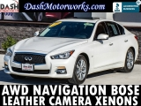 Infiniti Q50 Premium AWD Navigation Leather Sunroof Bose 2015