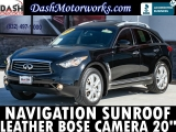 Infiniti FX35 Navigation Leather Camera Bose Sunroof 2012