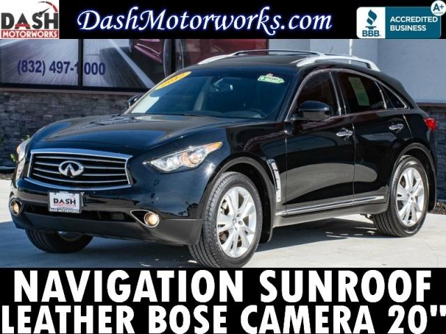 2012 Infiniti FX35 Navigation Leather Camera Bose Sunroof