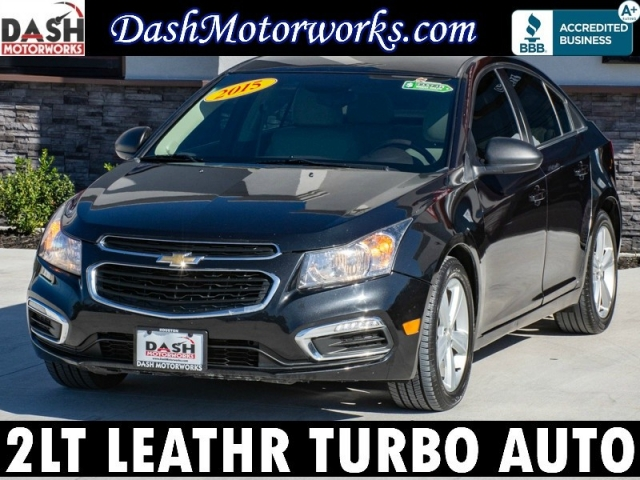 2015 Chevrolet Cruze 2LT Sedan Leather Turbo Automatic
