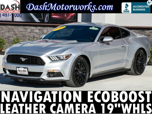 2015 Ford Mustang Ecoboost Premium Navigation Auto