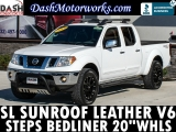 Nissan Frontier SL Crew Cab Leather Sunroof Side Steps 20 2011