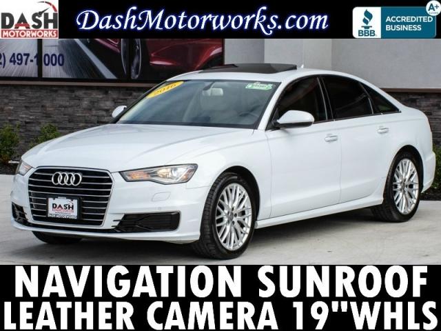 2016 Audi A6 Premium Plus 2.0T Navigation Camera Leather Sun