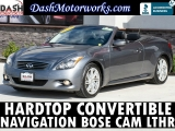 Infiniti G37 Sport Convertible Navigation Bose Leather Came 2012