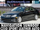Mercedes-Benz C-Class C250 Sport Sedan Navigation Leather Moonro 2013