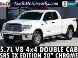 Toyota Tundra 4x4 Double Cab V8 Camera 20in Chrome 2012
