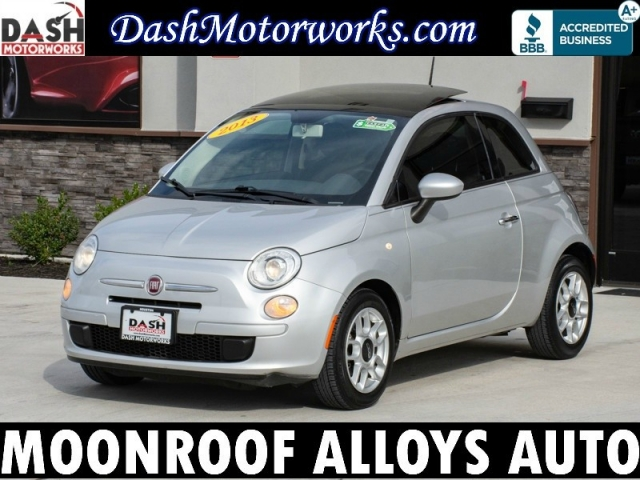 2013 Fiat 500 Sport Sunroof Alloys Automatic