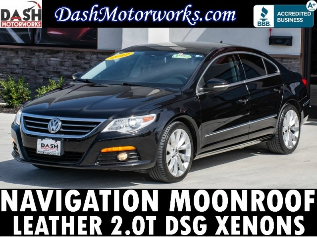 2012 Volkswagen CC DSG Lux Navigation Xenons Moonroof