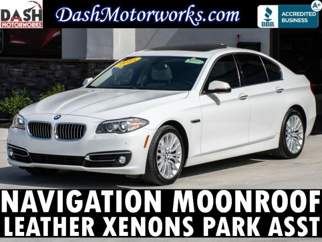 2015 BMW 5-series 528i Premium Navigation Sunroof