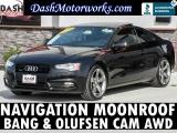 Audi A5 Quattro 2.0T Premium Plus Navigation Camera Sun 2014